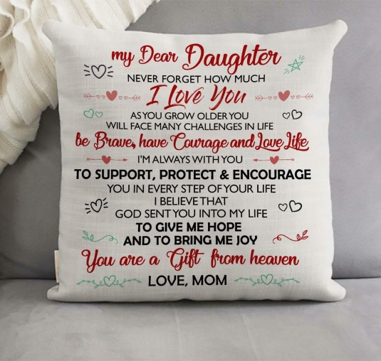 Daughter Pillow